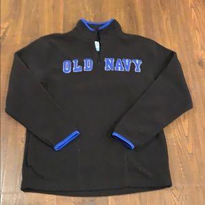 Old Navy 3/4 zip mock fleece